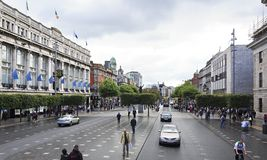 O Connell Street Stock Photography