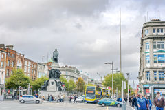 O'connell Street Royalty Free Stock Photography