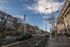 O'Connell Street - Dublin - Ireland Stock Image