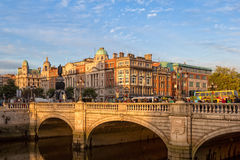 O'Connell Street - Dublin Royalty Free Stock Images