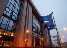 O Conselho da União Europeia Fotos de Stock Royalty Free