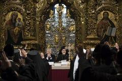 O Conselho da unidade das igrejas ortodoxas ucranianas imagens de stock