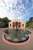 O conservatório nos jardins de Fitzroy, Melbourne Foto de Stock Royalty Free