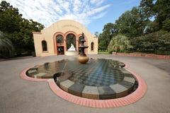 O conservatório nos jardins de Fitzroy, Melbourne Imagem de Stock Royalty Free