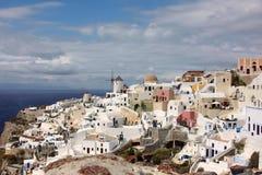 O console de Santorini Fotos de Stock