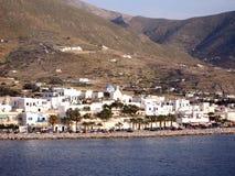 O console grego de Paros Foto de Stock