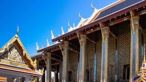 O containig de Ubosot Emerald Buddha Foto de Stock
