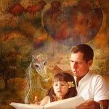 O conto de fadas para a criança Fotografia de Stock Royalty Free