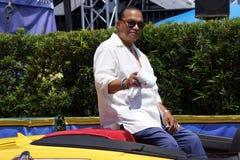 O convidado Billy Dee Williams da celebridade durante Star Wars Weekends 2014 Imagem de Stock