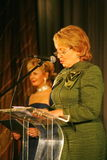 O convidado de honra Valentina Matvienko, um dos políticos fêmeas contemporâneos os mais famosos Fotos de Stock Royalty Free
