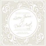 O convite do casamento e salvar os cartões de data Imagem de Stock