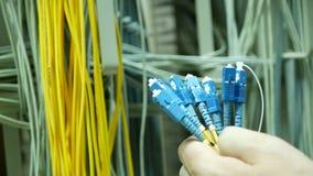 O coordenador de uma comunicação restaura sistemas Fotografia de Stock Royalty Free
