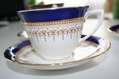 O copo de chá Imagens de Stock