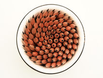 O copo de lápis afiados Imagem de Stock