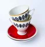 O copo no copo Imagens de Stock Royalty Free