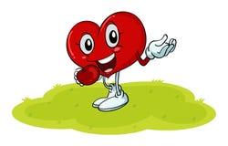 O coração Fotografia de Stock