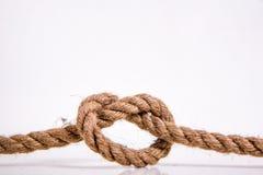 O coração da corda Foto de Stock Royalty Free