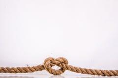 O coração da corda Foto de Stock
