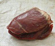 O coração da rena Imagens de Stock