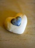 O coração de pedra Foto de Stock Royalty Free