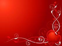 O coração do amor convida ilustração royalty free