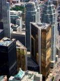 O coração financeiro de Toronto. Foto de Stock
