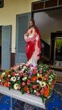 O coração sagrado de Jesus, mercê divina Fotografia de Stock