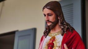 O coração sagrado de Jesus, mercê divina Imagens de Stock