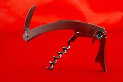 O Corkscrew do garçom Imagem de Stock