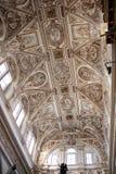 O coro abobada a mesquita de Córdova Fotos de Stock