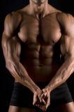 O corpo masculino. foto de stock royalty free