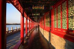 O corredor curvado Imagem de Stock Royalty Free