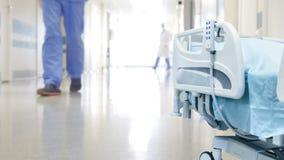 O corredor do hospital