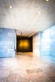 O corredor na construção do leste do National Gallery da arte, era Fotos de Stock Royalty Free