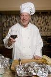O cozinheiro chefe Fotografia de Stock Royalty Free