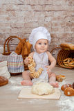 O cozinheiro chefe novo Foto de Stock