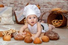 O cozinheiro chefe novo Imagem de Stock