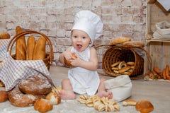 O cozinheiro chefe novo Foto de Stock Royalty Free