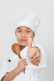 O cozinheiro chefe novo Fotos de Stock