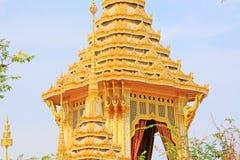O crematório do rei Bhumibol, Banguecoque, Tailândia foto de stock royalty free