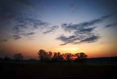 O crepúsculo Imagem de Stock Royalty Free