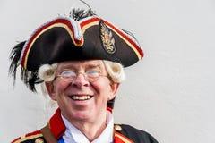 O Crier de cidade de Chester Fotos de Stock Royalty Free