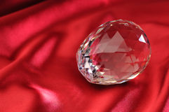 O cristal encontra-se no atlas Foto de Stock
