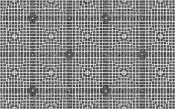 O cruzamento branco esquadra o teste padrão sobre um fundo cinzento sujo áspero ilustração stock