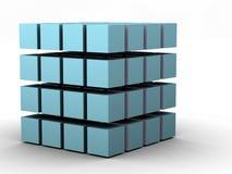 O cubo 4 ilustração stock