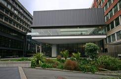 O cubo, Victoria University de Wellington, Wellington, Nova Zelândia fotos de stock royalty free