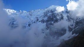 O cume principal de Cáucaso Fotos de Stock