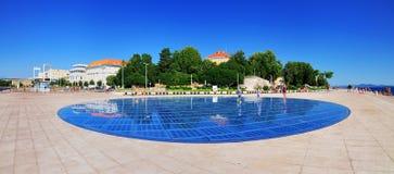 O cumprimento ao Sun, Zadar Fotografia de Stock