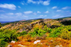 O curso da caverna de Soreq Avshalom em Israel - Fotografia de Stock