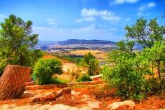 O curso da caverna de Soreq Avshalom em Israel Imagens de Stock Royalty Free